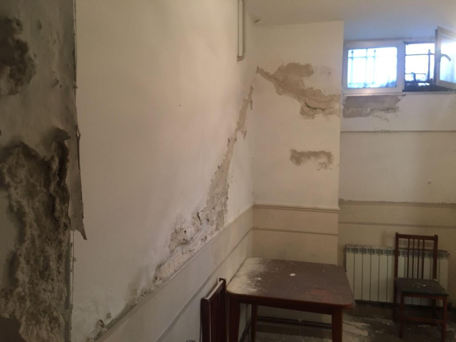 Filtraciones en paredes
